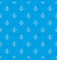 delivery pattern seamless blue vector image vector image