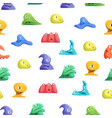 different types cute jelly monsters characters vector image vector image