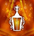forging lantern for ramadan kareem vector image vector image