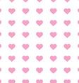 Popular love heart decor inspiration idea vector image