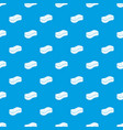 sponge pattern seamless blue vector image vector image