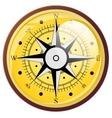 Wind rose compass flat symbols vector image