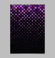 Abstract diagonal square pattern background flyer