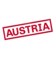Austria rubber stamp vector image vector image