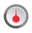 Clyster tool icon Enema symbol Round button with vector image vector image