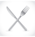 Cutlery crossing vector | Price: 1 Credit (USD $1)