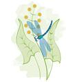 dragon watercolor vector image
