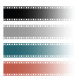 film tape roll vector image