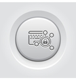 High Security Level Icon vector image vector image