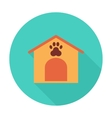Kennel icon vector image vector image