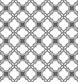 Monochrome seamless pattern in oriental style vector image vector image