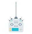 radio control equipment with receiver icon vector image vector image