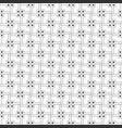seamless monochrome minimalistic pattern vector image vector image