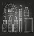 vaporizer cigarette vector image vector image