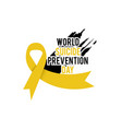world suicide prevention day september 10 concept