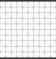 abstract simple pattern with circles monochrome vector image vector image