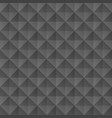 black geometric pattern vector image