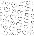 grunge nice heart love symbol background vector image vector image