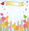 singing in rain vector image vector image