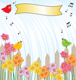 singing in the rain vector image vector image