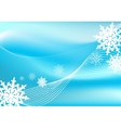 Snow blizzard background vector image vector image