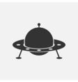UFO icon vector image