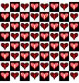 Valentine seamless vector image