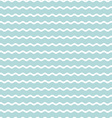wave blue background seamless pattern vector image vector image