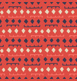 african seamless pattern ethnic tribal ornament vector image vector image