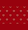 christmas pattern background seamless deer vector image vector image