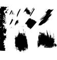 Ink blots grunge vector image vector image
