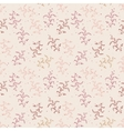 Light floral seamless pattern vector image vector image