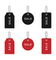 sale price tags collection price tags or labels vector image vector image