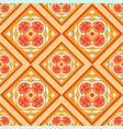 seamless colorful arabic geometric pattern vector image vector image