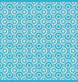 turquoise pattern with circles vector image vector image