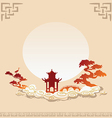 Abstract asian background