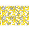 abstract chaotic geometric seamless pattern vector image vector image