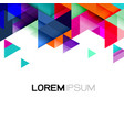 geometric template gradient and modern overlapping vector image
