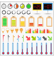 Indicators Collection vector image vector image