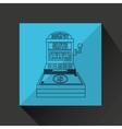 jackpot machine design vector image vector image