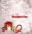 Postcard Valentines Day vector image vector image