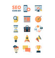 social media icon promotion web advertizing vector image