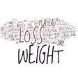 enhance weight loss and overcome your plateau vector image vector image