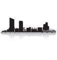 Grand Rapids USA city skyline silhouette vector image