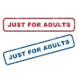Just For Adults Rubber Stamps vector image vector image