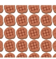 Meat grill invitation pattern background