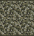 military mosaic tile seamless pattern abstract vector image