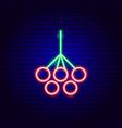 rowanberry neon sign vector image vector image