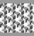 Seamless 3d geometrical pattern of cube columns