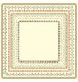 seamless borders vector image vector image